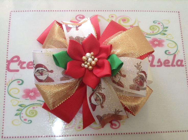 Un mo o para el cabello muy navide o mo os pinterest for Monos navidenos