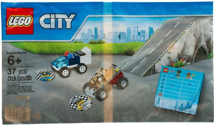 Lego City POLICE CHASE RACE Car Ramp VIP 2016 Town Polybag New Promo Set 5004404  | eBay