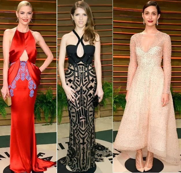 Jaime King, Anne Kendrick, Emmy Rossum - Oscars 2014 after Party