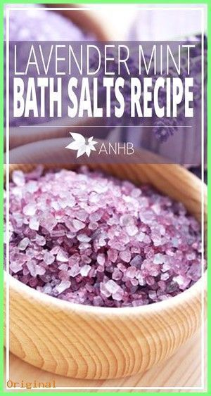 # Skincare Recipes-50 + Skin Care - Lavender Mint Bath Salts Recipe - All Natural ....  -  Hautpflege-Rezepte