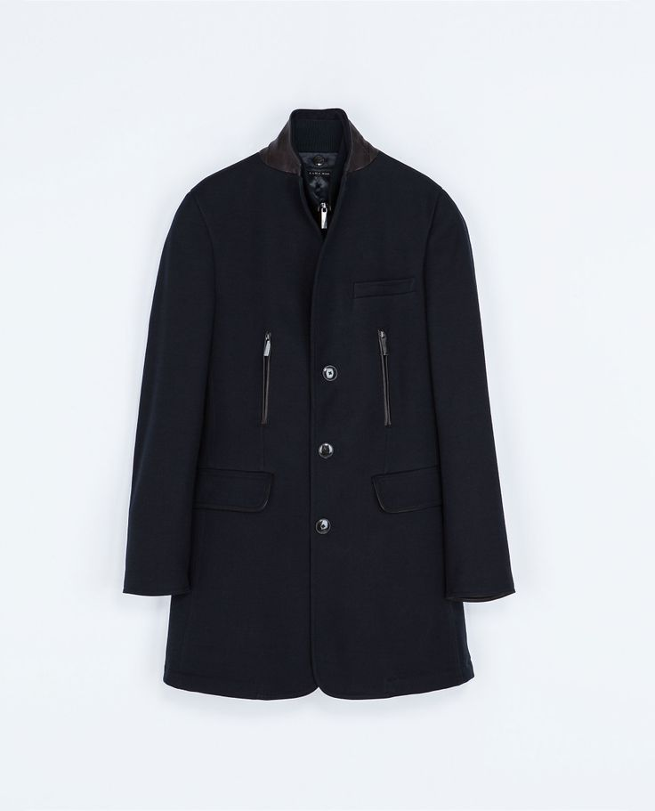Zara COAT WITH DETACHABLE WAISTCOAT  Ref. 7179/350  299.00 CAD               OUTER SHELL  83% COTTON, 14% WOOL, 3% POLYAMIDE  LINING  100% POLYESTER  FILLING  100% POLYESTER