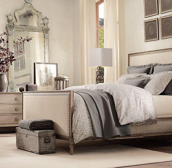 restoration hardware recamaras pinterest neutral bedrooms the white and vanities. Black Bedroom Furniture Sets. Home Design Ideas