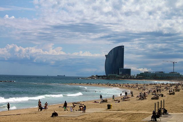 Sant Sebastia is the favorite beach of locals due to its big sizes (about kilometer in length and 80 meters in width) and close location to the port. http://holidaybays.com/top-5-attractions-with-free-entry-in-barcelona-and-its-surroundings/