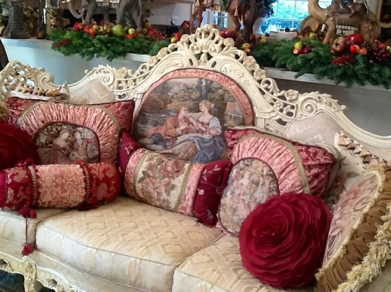 Love All The Rose Mauve And Burgundy Colors Victorian Styling