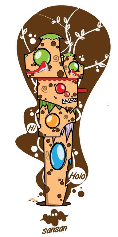 Holo | Vector | Character Design | illustration | Digital Art |