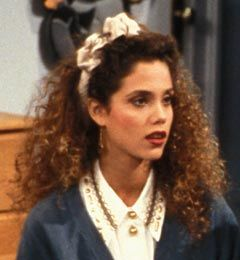 Love the headband…and that collar!  Jesse in Saved by the Bell