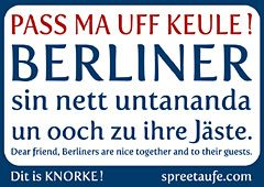 Pass ma uff Keule - Berliner sind nett