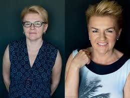 Znalezione obrazy dla zapytania makijaż kobiety dojrzałej