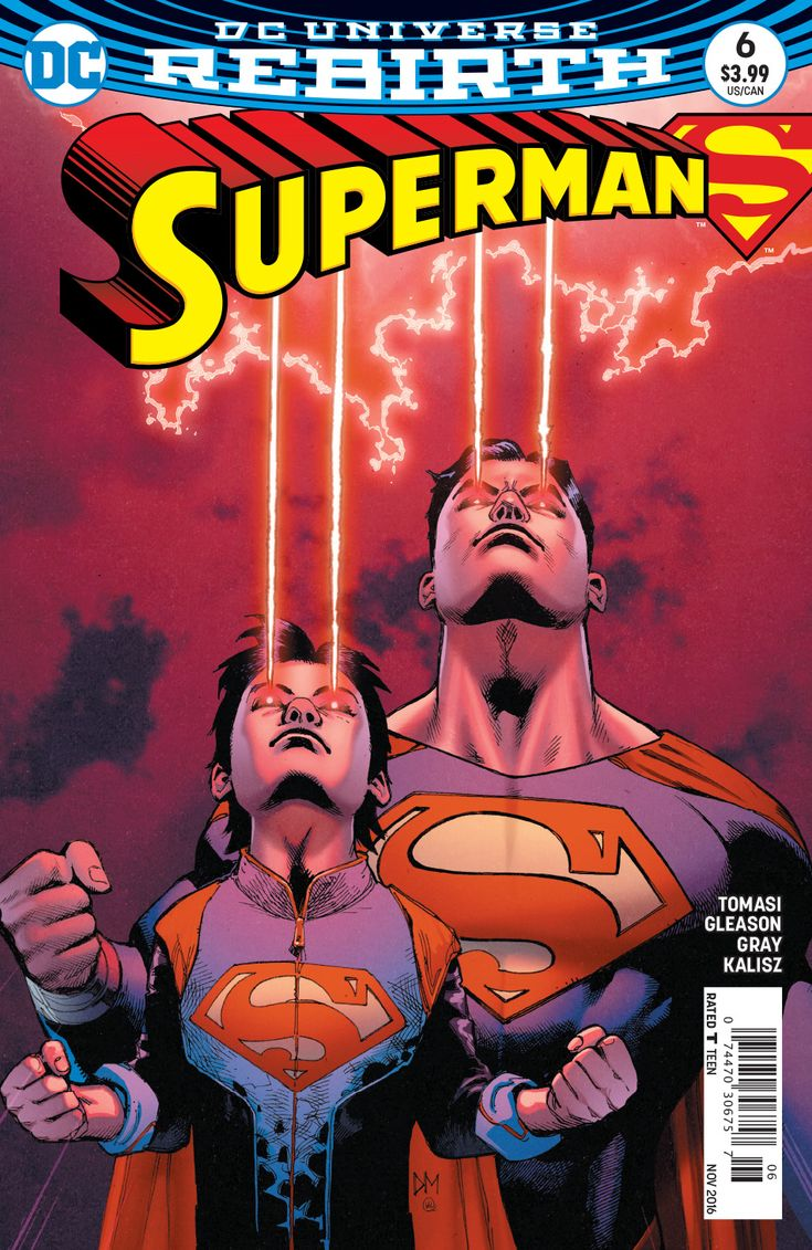 """SON OF SUPERMAN"" part 6! The evil Eradicator faces off against Superman and son…"