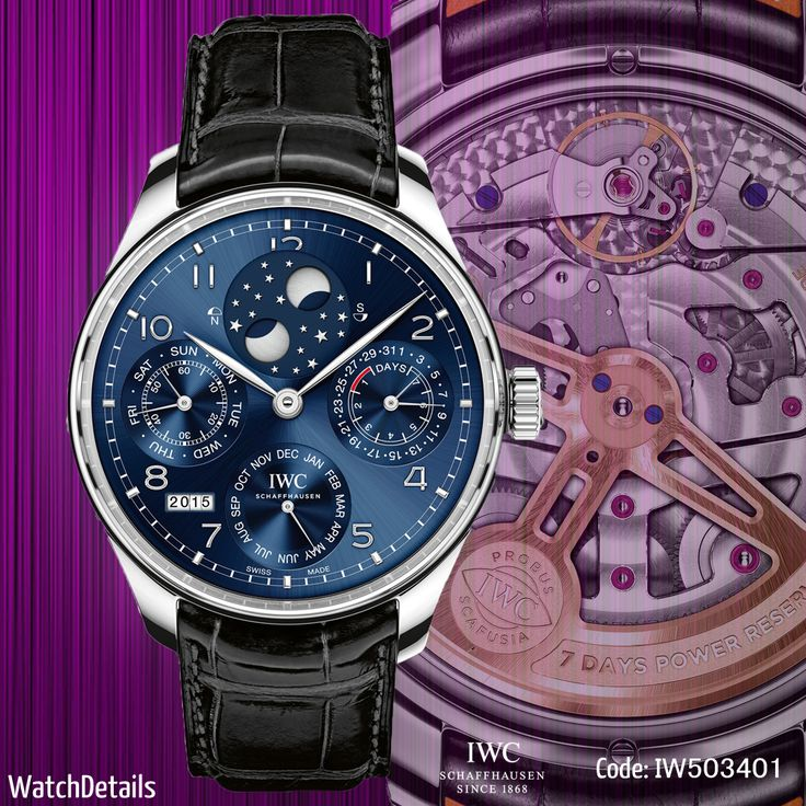 Read more Watches Perpetual Calendar Portugieser Perpetual Calendar IW503401 http://goo.gl/GoHOXt #watches #watch #Details #IWC #fashion #style #mens