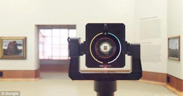 Google Art Camera - One GigaPixel Camera