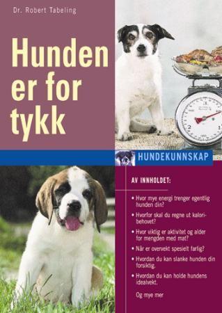Her får du nyttige tips som du og hunden din vil ha glede av. For en passe tykk og godt mosjonert hund lever betydelig lenger og får et bedre liv enn en overvektig hund. Forfatteren Dr. Robert Tabeling er spesialist på fôr og diett.