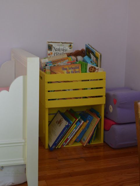 Repurposed Kids Bookshelf