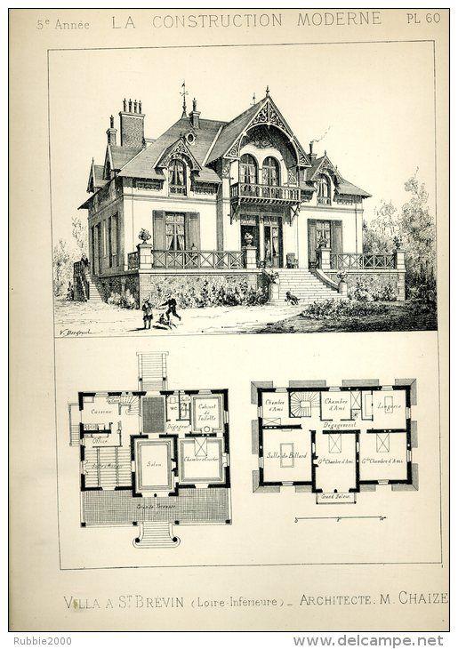 Villa Saint-Brévin (Loire) Architecte Chaize