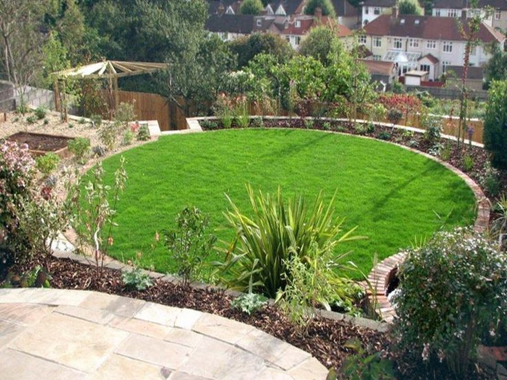 there are so many benefits this kind of design for the garden offers including the - Garden Design Circular Lawns