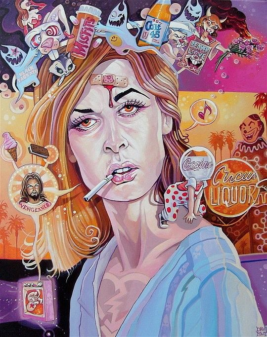 Digital Illustrations by David Macdowell