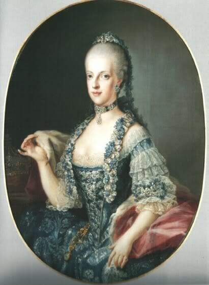 Maria Carolina of Austria. Queen of Naples and the two Sicillies.  That is spelled wrong I think lol