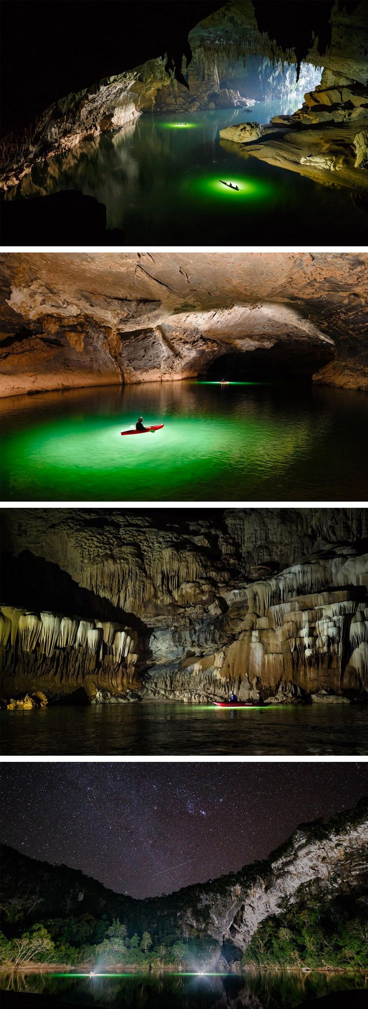 A Trip by Air and Kayak Through Tham Khoun Xe, One of the Largest Active River Caves on Earth -bucket list-