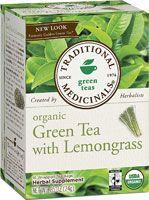 Traditional Medicinals Organic Green Tea with Lemongrass...my flavorite