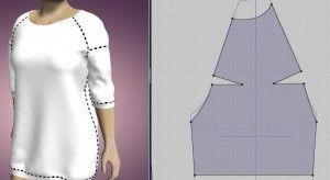 выкройка пуловера,  пуловер с рукавом реглан,  выкройка рукава реглан +без шва,  как сделать рукав реглан,  реглан построение выкройки,  построение выкройки рукава реглан,  выкройки 48 50 размера