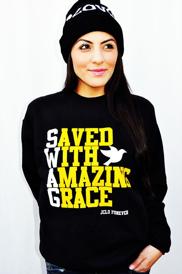 i'm not usually one for graphic t's i have a total of 3 in my wardrobe...but i really like this =D SWAG <3