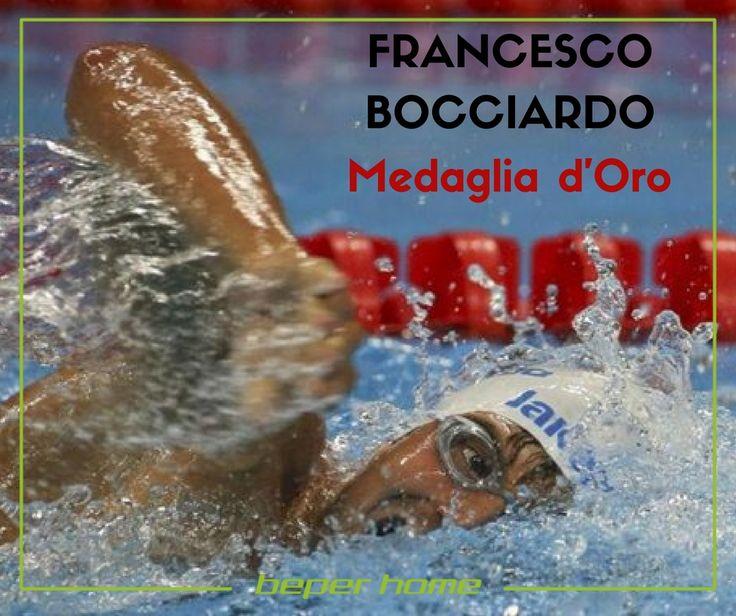 PARAOLIMPIADI DI RIO DE JANEIRO Il genovese Francesco Bocciardo conquista la MEDAGLIA d'ORO nel nuoto, nei 400 stile S6. Salgono così a quota 15 le medaglie italiane: 2 ori, 7 argenti, 6 bronzi. Le gare si concluderanno il 18 settembre, BEPER HOME continua a fare il tifo per i nostri straordinari atleti.   @beperhome #beperevents #paraolympics #rio2016