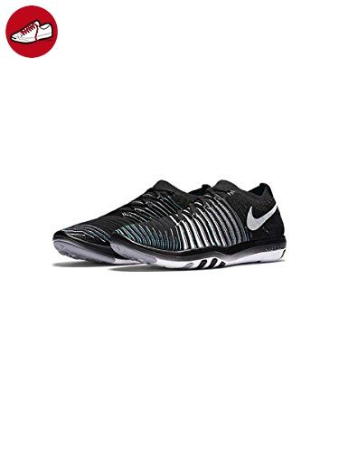 Nike Damen Wm Free Transform Flyknit Turnschuhe, Black (Schwarz / Weiß-Wolf Grau-Drk Grau), 37 1/2 EU - Nike schuhe (*Partner-Link)