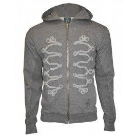 BOLONGARO TREVOR NAPOLEON HOODY (CHARCOAL MARL) - Hoodies & Crews - Menswear