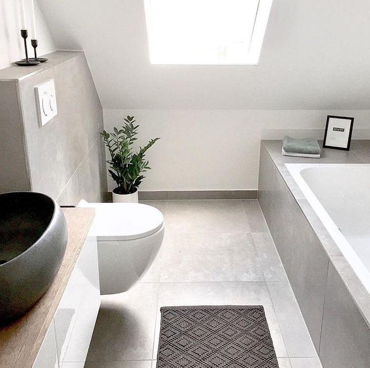Unser Badezimmer. Klein aber Unser Badezimmer. Klein aber | SoLebIch.de The post… – Badezimmer