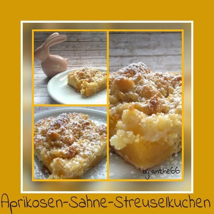 'Aprikosen-Sahne-Streuselkuchen'