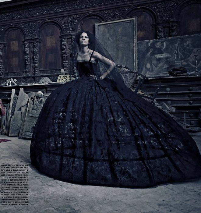 Dolce & Gabbana Vogue Italia - :O gorgeous!