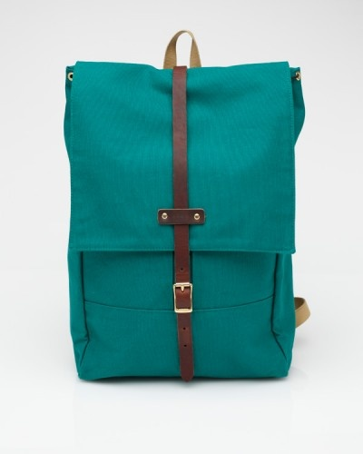Rucksack #8 In Green. Archival Clothing
