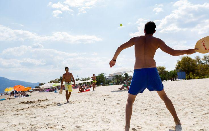 Play on the beach !!!  #Asprovalta #Greece #beach #holidays  http://ilionluxurystudios.com/