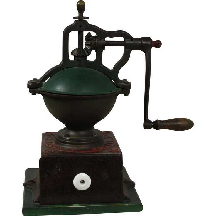 @rubylanecom Vintage French Industrial Coffee Grinder c.1950