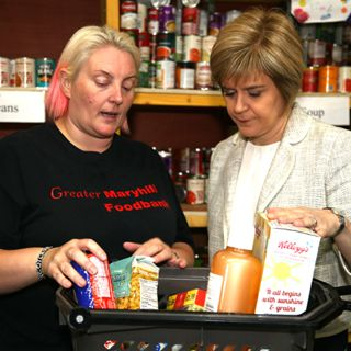 BBC news report on food poverty in Scotland August 2014