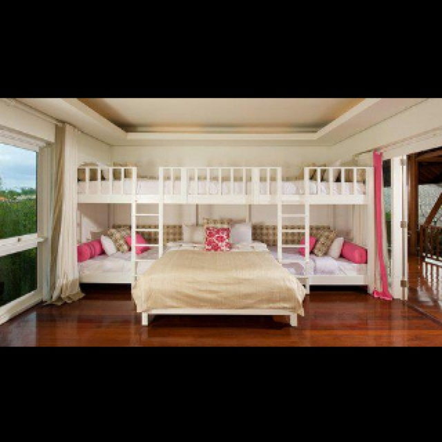 The ultimate family bed... Love love love!