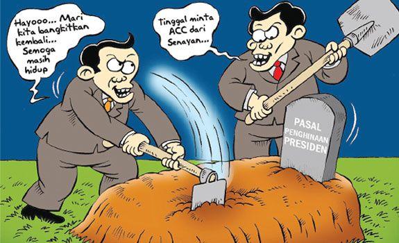 Mice Cartoon, Rakyat Merdeka - Agustus 2015: Menunggu ACC Senayan