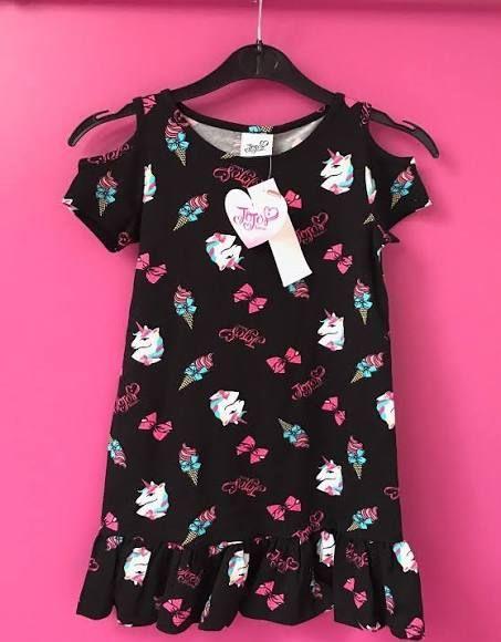 41910c1021cf Jojo Siwa Girls Unicorn Dress Age 6 7 8 9 10 11 12 13 Years Licensed ...