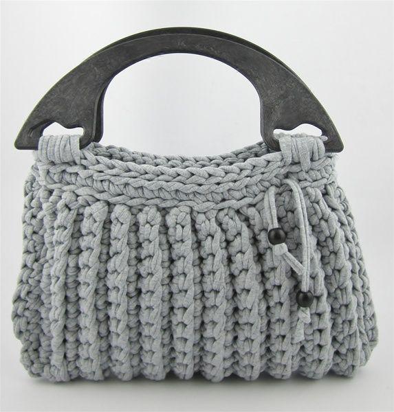 El blog de Dmc: Tutorial bolso de ganchillo XL con Hoooked