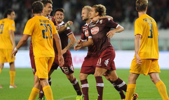 #Torino-#Verona 2-2, non basta super #Cerci. Le immagini più belle della sfida fra i granata e la squadra di Mandorlini. Agli uomini di #Ventura non basta una doppietta dell'attaccante per portare a casa i tre punti.