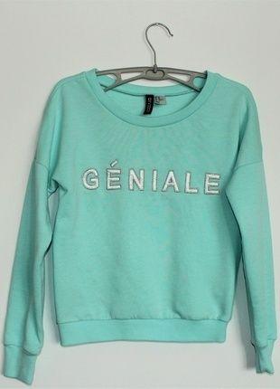 Kup mój przedmiot na #vintedpl http://www.vinted.pl/damska-odziez/bluzy/12584380-bluza-hm-krotka-xs-34-jak-nowa-geniale