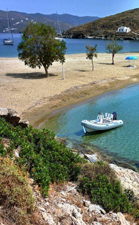 Kolona, Kythnos Island (Cyclades), Greece