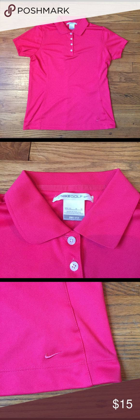 NEW Nike Golf Polo Shirt Sz M New without tags. Nike Tops