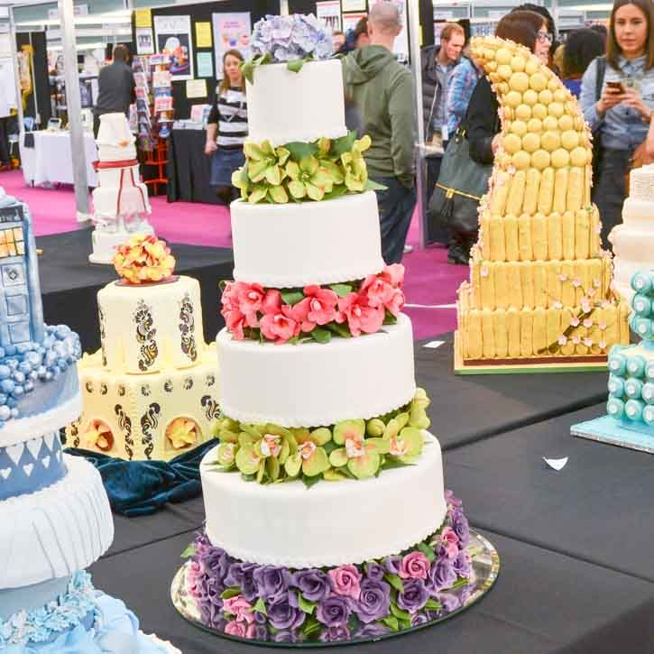 38 Best Images About Cake International 2013 Wedding Cakes