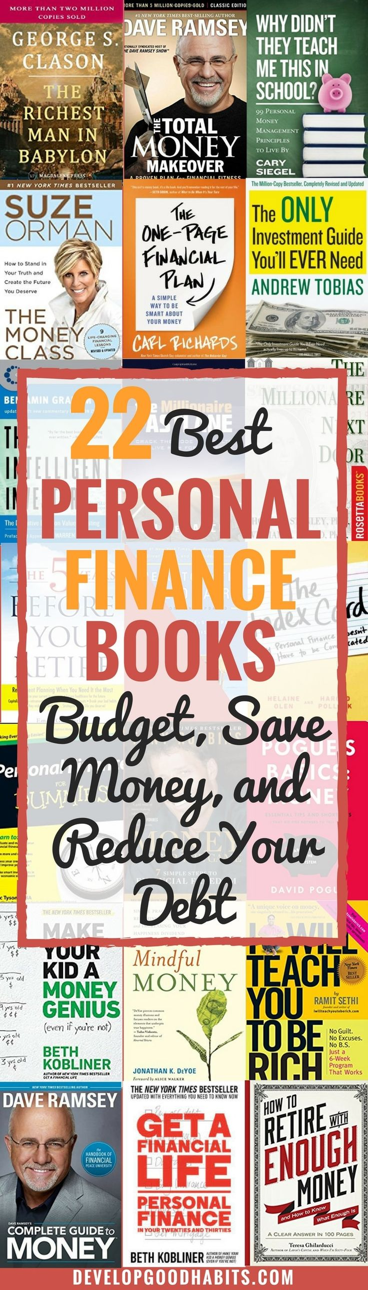 22 Best Personal Finance Books (budget, Save Money, And Reduce Your Debt)