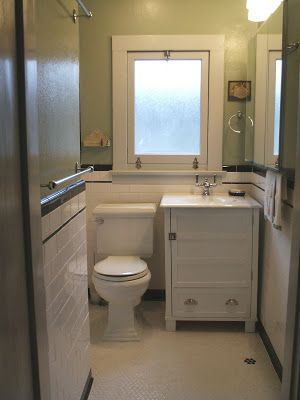 Here's another 1920's styled bathroom we finished for our clients who live in an adorable craftsman bungalow. Like many other bathrooms in t...