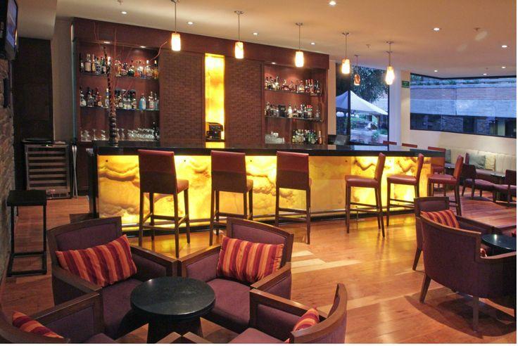 Bar del Hotel Marriott Puebla