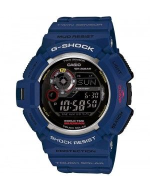 Casio G-Shock Mudman G9300NV-2. This watch features direction and thermo sensors that can help you keep your bearing wherever your adventure takes you. A one-touch easy access button goes directly to compass & thermometer mode and a moon phase graph can help to determine whether the nighttime hours will be dark or light. A declination function even makes it possible to adjust the watch's magnetic north direction reading to indicate true north. WATCH IT!