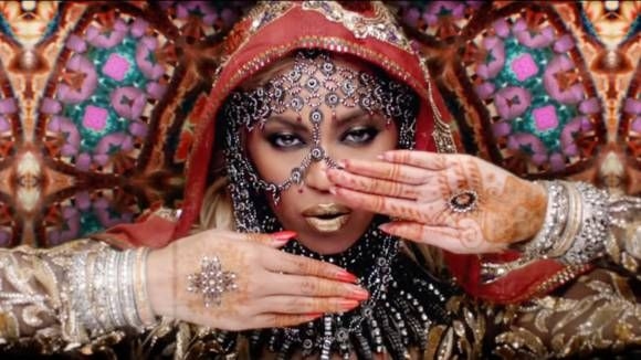 "Beyonce was criticized for playing an Indian ""goddess"" wearing a sari and henna hand tattoos in Coldplay's Hymn for the Weekend video, released on January 29, 2016. The band itself was also criticized for portraying India in a very stereotypical fashion."
