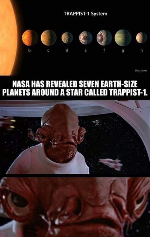 Only Star Wars fans will get this Admiral Ackbar is like: TRIGGGGGERRRRREDDDD